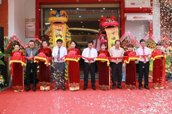 HDBank thêm điểm giao dịch thứ 4 trên đất võ Bình Định