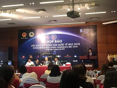 Sắp diễn ra Hội nghị Bất động sản Quốc tế IREC 2018