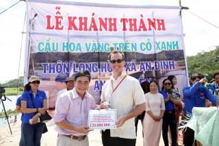 Đại học Đông Á hỗ trợ xây cầu ở Phú Yên