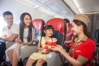 Vietjet mở bán 2,5 triệu vé bay giá từ 0 đồng