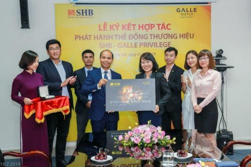 SHB ra mắt thẻ đồng thương hiệu SHB - Galle Privilege Prepaid card