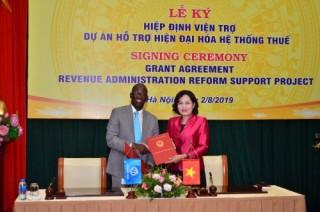 WB và Nhật Bản hỗ trợ Việt Nam hiện đại hoá hệ thống thuế