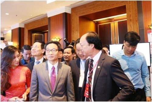 Ví Việt tham gia Vietnam ICT Summit 2019