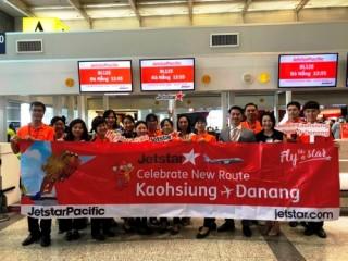 Jetstar Pacific khai trương đường bay thẳng giữa Kao Hùng và Đà Nẵng
