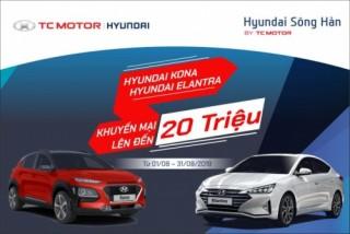 Khuyến mãi đặc biệt dành cho Hyundai Kona và Elantra
