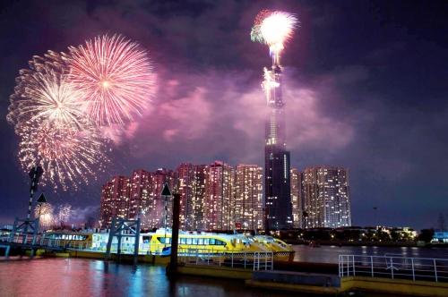 TP.HCM: Bắn pháo hoa dịp Quốc khánh ở đâu?