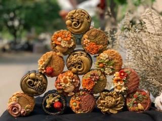 Xu hướng độc, lạ trong nguyên liệu bánh Trung Thu handmade
