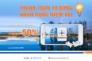 Thanh toán tự động - Nhân rộng niềm vui với Sacombank