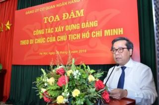Công tác xây dựng Đảng theo Di chúc của Chủ tịch Hồ Chí Minh