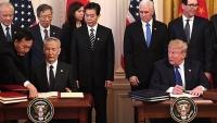 Mỹ và Trung Quốc sẽ rà soát việc thực hiện thỏa thuận thương mại giai đoạn một