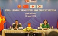 Hội nghị trực tuyến Thứ trưởng Tài chính và Phó Thống đốc NHTW ASEAN+3