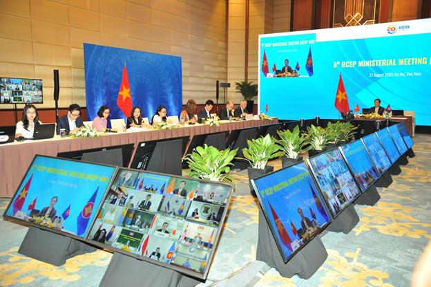 15 Bộ trưởng kinh tế RCEP thúc đẩy ký kết Hiệp định vào cuối năm 2020