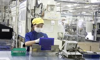 Sản lượng công nghiệp giảm mạnh trong bối cảnh đại dịch COVID-19 bùng phát