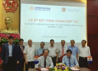 LienVietPostBank hợp tác xây dựng chính quyền điện tử, thành phố thông minh tại Bắc Ninh