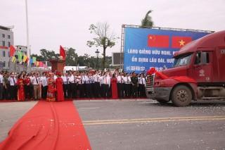Khai trương cặp cửa khẩu song phương với Trung Quốc tại Lạng Sơn