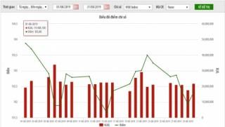 Thị trường niêm yết HNX tháng 8/2019: Giao dịch giảm 6%