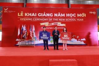 Gần 15 nghìn học sinh hệ thống giáo dục Nguyễn Hoàng cùng đón năm học mới