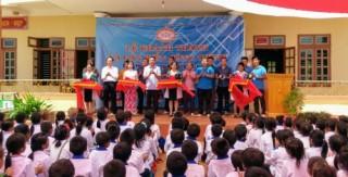 Công đoàn Ngân hàng Việt Nam khánh thành và bàn giao Điểm Trường Suối Lềnh