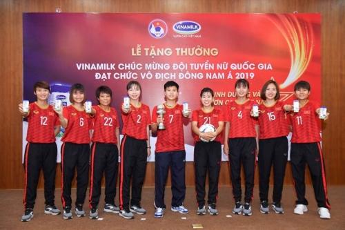 Dinh dưỡng vàng cho đội tuyển bóng đá nữ quốc gia