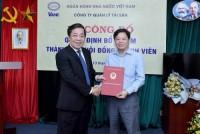 Công bố Quyết định điều động Thành viên Hội đồng thành viên VAMC
