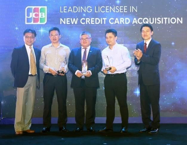 MB vinh dự nhận 4 giải thưởng danh giá từ JCB