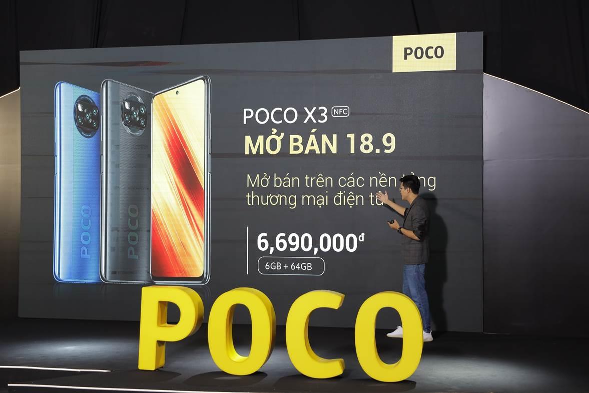 POCO X3 NFC - nhà vô địch phân khúc tầm trung