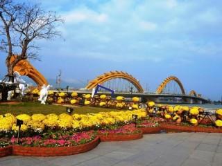 Đà Nẵng: Chi 5,4 tỷ đồng trang trí hoa Tết 2019 khu vực nào?