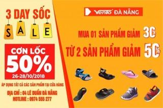 Vento Đà Nẵng khuyến mãi giảm giá tới 50%