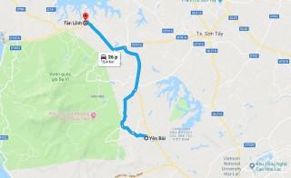 Hơn 206 tỷ đồng cải tạo, nâng cấp đường Tản Lĩnh - Yên Bài