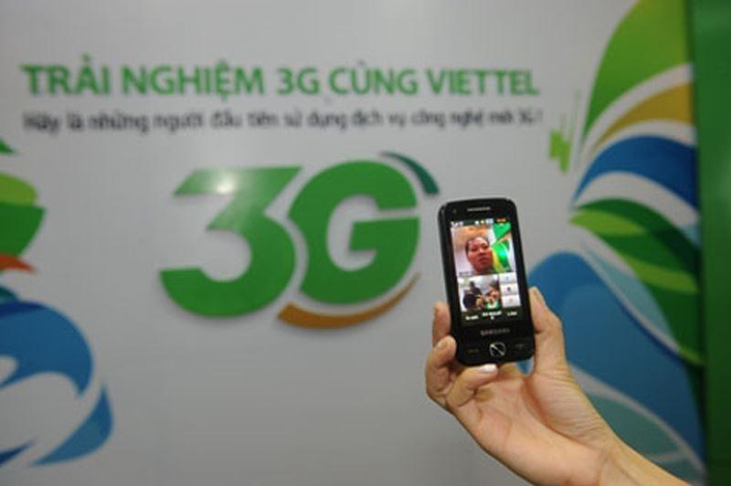 Mạng dữ liệu 3G Viettel đứng đầu về chất lượng