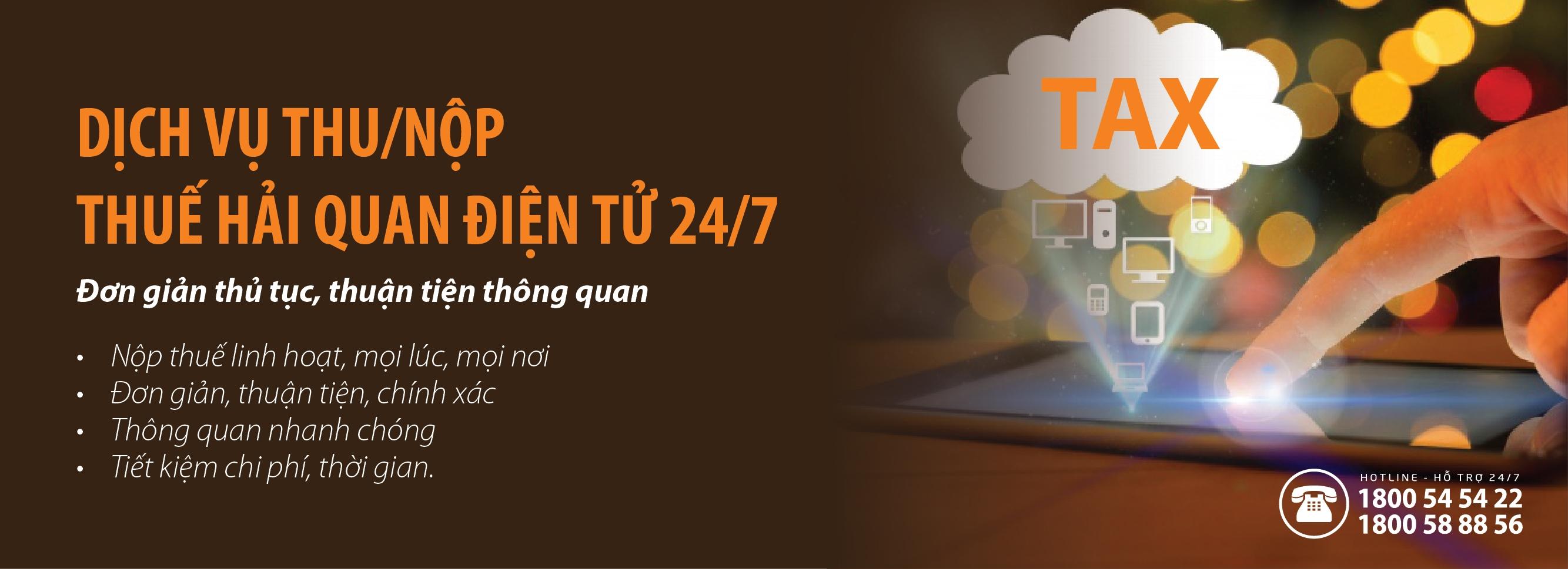 SHB triển khai dịch vụ thu nộp thuế hải quan điện tử 24/7
