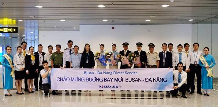 Korean Air mở đường bay trực tiếp Đà Nẵng - Busan