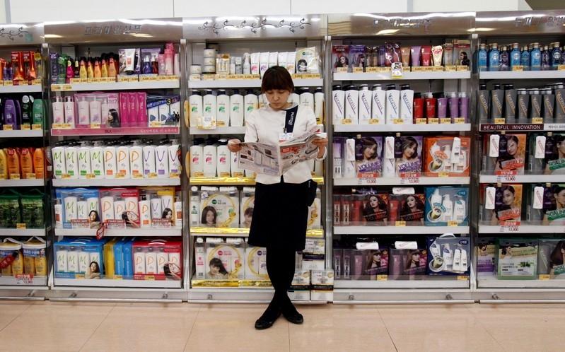 Hàn Quốc lần đầu tiên xuất hiện giảm phát