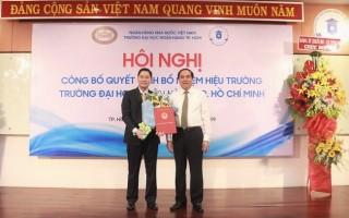 Bổ nhiệm Hiệu trưởng trường Đại học Ngân hàng TP.HCM