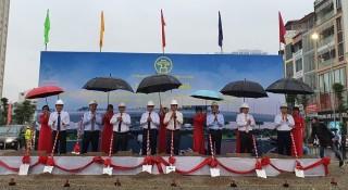 Khởi công xây dựng cầu vượt tại nút giao Hoàng Quốc Việt - Nguyễn Văn Huyên