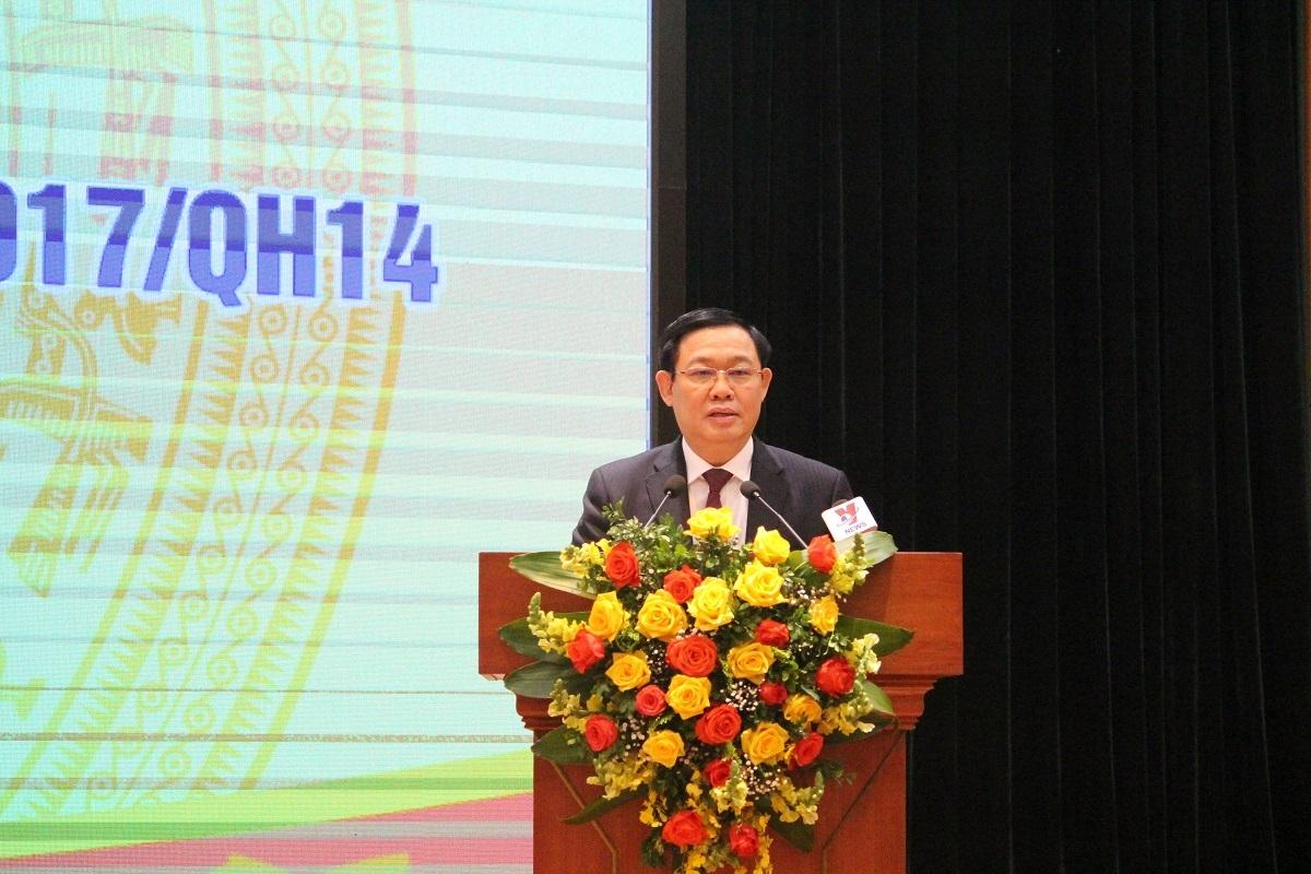 Phó Thủ tướng Vương Đình Huệ: Ngành Ngân hàng đã nỗ lực, tích cực triển khai Nghị quyết 42 và Quyết định 1058