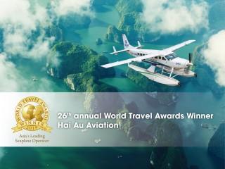 Hàng không Hải Âu - Hãng thủy phi cơ tốt nhất Châu Á năm 2019