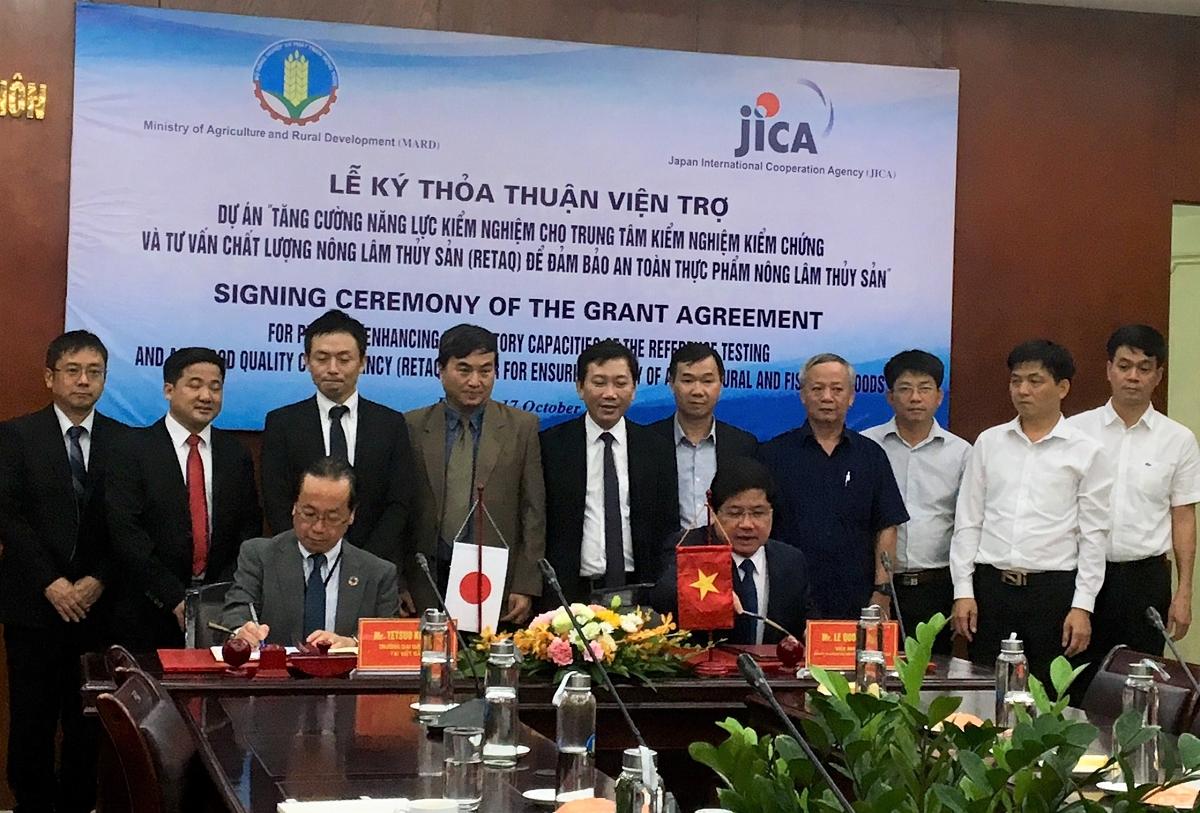 JICA viện trợ không hoàn lại cho Việt Nam để kiểm soát an toàn thực phẩm
