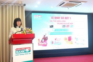 Kienlongbank đã xác định được 39 khách hàng trúng thưởng