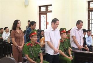 Vụ gian lận điểm thi tại Hà Giang: Tuyên án 5 bị cáo