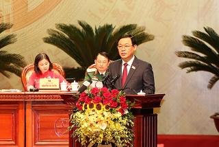 Ông Vương Đình Huệ tiếp tục được bầu giữ chức Bí thư Thành ủy Hà Nội