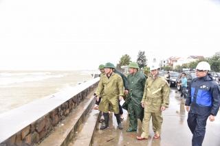 Phó Thủ tướng Trịnh Đình Dũng: Phải giữ tuyệt đối an toàn khi bão đổ bộ