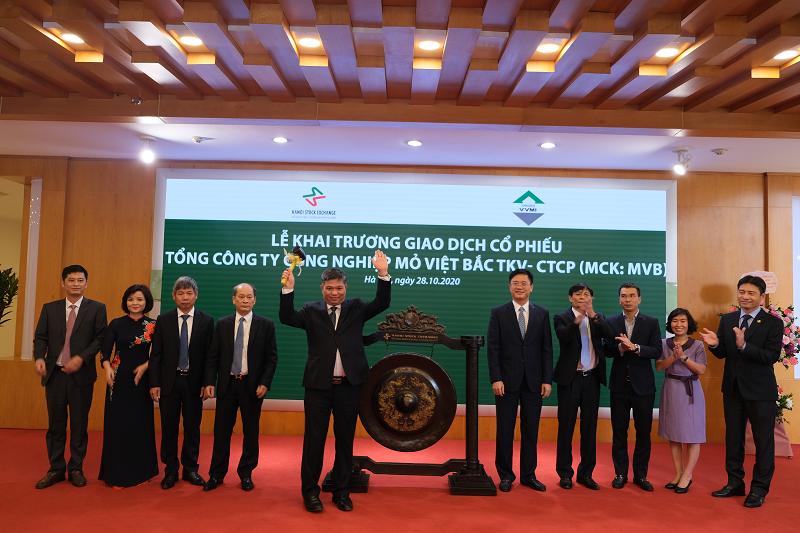 105 triệu cổ phiếu MVB chính thức niêm yết tại HNX