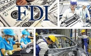 Giải ngân vốn FDI được 15,15 tỷ USD, giảm 4,1%