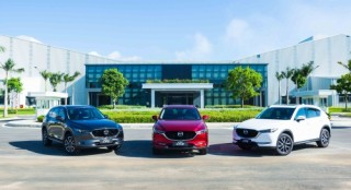 Thaco công bố giá bán xe Mazda màu sơn cao cấp mới