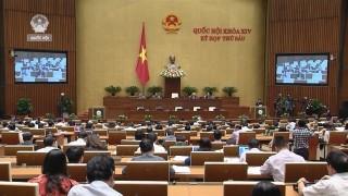 Quốc hội thảo luận về dự án Luật Đặc xá và Luật Chăn nuôi