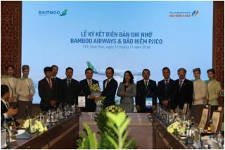 Petrolimex đồng hành cùng Bamboo Airways