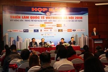 Khoảng 1.600 gian hàng tham dự Vietbuild Hà Nội 2018
