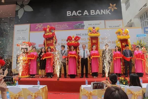 BAC A BANK khai trương trụ sở mới tại TP.HCM