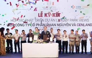 CENLAND và Phan Nguyễn hợp tác phát triển dự án Luxury Park Views
